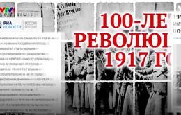 100 năm Cách mạng Tháng Mười trên báo chí Nga