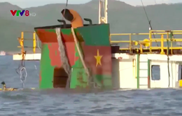 Bình Định: Chỉ mới một tàu hàng bị chìm được phê duyệt trục vớt