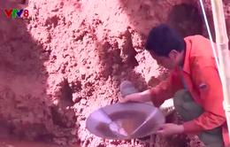 Thừa Thiên - Huế: Kiểm tra, xử lý khai thác vàng trái phép tại huyện A Lưới