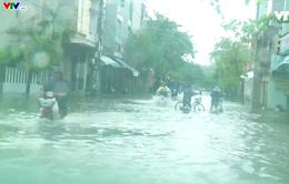 Áp thấp suy yếu, gây mưa lớn ở Nam Trung bộ