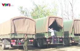 Chính phủ Lào hỗ trợ Phú Yên khắc phục hậu quả bão số 12