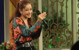 """Giữa bão tranh cãi, Chi Pu tự tin hát live """"Cho ta gần nhau"""" trên sóng VTV"""