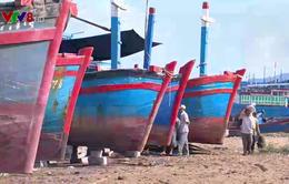 Khó khăn chồng chất trong sửa chữa tàu cá sau bão