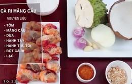 Cách nấu món cà ri mãng cầu xiêm vừa ngon, vừa bổ