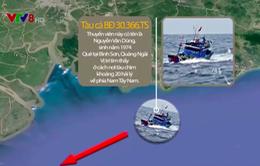 Cứu 1 thuyền viên Quảng Ngãi vụ tàu cá bị chìm tại Bà Rịa - Vũng Tàu