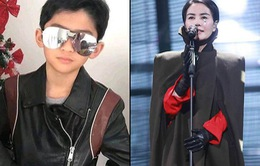 Con trai Trương Bá Chi đứng chung sân khấu với bạn gái của bố