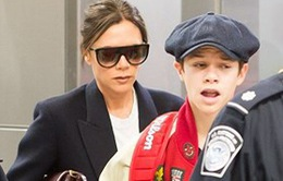 Vợ chồng Beckham cùng các con đón năm mới ở Miami
