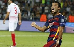 Arsenal, Liverpool tranh nhau hàng thải của Barcelona
