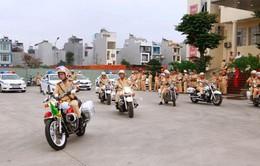 Cảnh sát giao thông mở đợt cao điểm đảm bảo ANGT dịp Tết