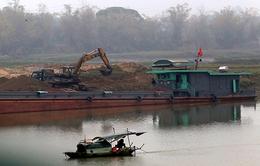 Khó khăn trong quản lý hoạt động khai thác cát tại Quảng Nam