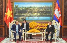 Thủ tướng Nguyễn Xuân Phúc hội kiến Chủ tịch Quốc hội Campuchia