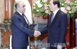 Chủ tịch nước tiếp Phó Thủ tướng Uzbekistan
