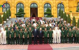 Chủ tịch nước tiếp cựu quân tình nguyện giúp Campuchia