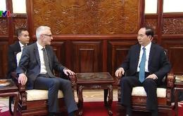 Chủ tịch nước tiếp Tổng Thư ký Interpol