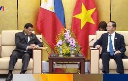 Chủ tịch nước tiếp Tổng thống Philippines