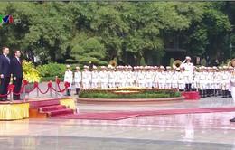Chủ tịch nước Trần Đại Quang chủ trì lễ đón Tổng thống Ba Lan