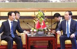 Chủ tịch nước tiếp Phó Chủ tịch Chính hiệp Trung Quốc