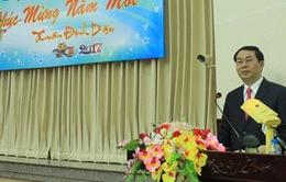 Chủ tịch nước chúc Tết cán bộ Văn phòng Chủ tịch nước