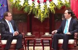 Chủ tịch nước Trần Đại Quang tiếp Bộ trưởng Bộ Ngoại giao New Zealand