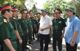 Chủ tịch nước thăm đại đội 33 đảo Ngư