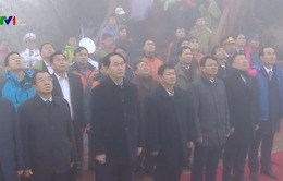 Chủ tịch nước dự Lễ thượng cờ trên đỉnh Fansipan