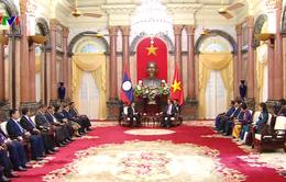 Chủ tịch nước: Việt Nam luôn coi trọng, gìn giữ và củng cố mối quan hệ đặc biệt với Lào