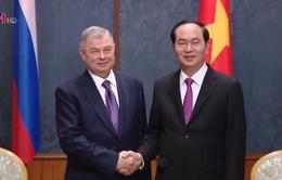 Chủ tịch nước Trần Đại Quang tiếp Thống đốc vùng Kaluga
