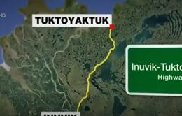 Canada khánh thành tuyến cao tốc đầu tiên tới Bắc Cực