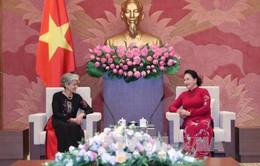 Chủ tịch Quốc hội tiếp Tổng giám đốc UNESCO
