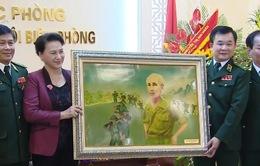 Chủ tịch Quốc hội thăm Bộ Tư lệnh Bộ đội Biên phòng