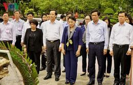 Chủ tịch Quốc hội thăm và làm việc tại Côn Đảo