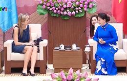Chủ tịch Quốc hội tiếp Hoàng hậu Hà Lan