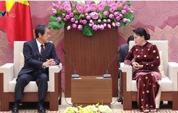 Chủ tịch Quốc hội tiếp Đại sứ Nhật Bản