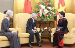 Chủ tịch Quốc hội hội kiến Nhà vua và Hoàng hậu Nhật Bản