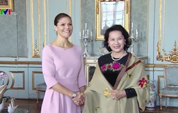 CTQH Nguyễn Thị Kim Ngân hội kiến Công chúa kế vị Thụy Điển