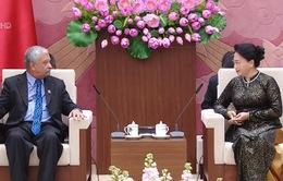 Chủ tịch Quốc hội tiếp Trưởng đại diện UNDP tại Việt Nam