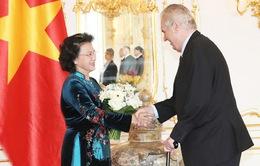 Chủ tịch Quốc hội hội kiến Tổng thống Cộng hòa Czech