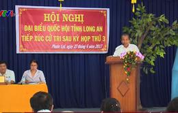 Lãnh đạo Đảng, Nhà nước tiếp xúc cử tri sau kỳ họp thứ 3