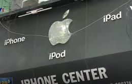 Sẽ xử lý tình trạng các cửa hàng tại Việt Nam treo logo Apple bừa bãi