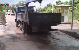 Cơ sở hạ tầng Cửa khẩu quốc tế La Lay có dấu hiệu xuống cấp