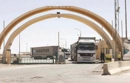 Cửa khẩu biên giới giữa Iraq với Jordan chính thức mở cửa trở lại