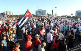 Cuba diễu binh quy mô lớn
