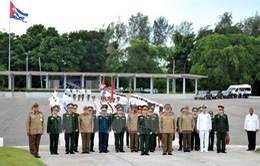 Chủ tịch Cuba Raúl Castro tiếp Bộ trưởng Ngô Xuân Lịch