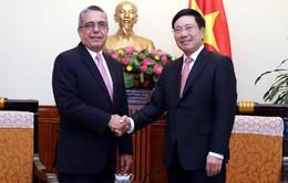 PTTg Phạm Bình Minh tiếp Thứ trưởng Thứ nhất Bộ Ngoại giao Cuba