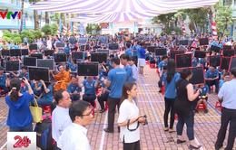 """TP.HCM: Hơn 1.200 học sinh tham gia cuộc thi """"Cùng non sông cất cánh"""""""