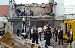 Paraguay: 60 tên cướp dùng chất nổ phá tung trụ sở công ty an ninh