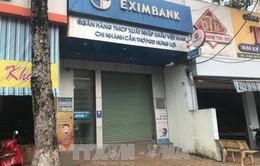 Bắt đối tượng cướp ngân hàng bằng bom xăng