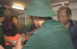 Bình Định: Đã cứu được 46 thuyền viên trên 7 tàu chở hàng bị chìm