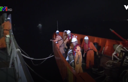 Cứu hộ thành công 7 ngư dân gặp nạn