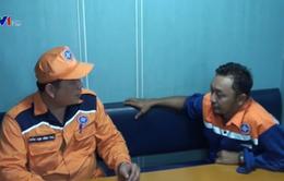 Cứu sống thuyền viên Malaysia gặp nạn trên biển